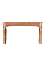 The Antique Fireplace Bank Extreme Wide Antique Fireplace Surround In Bicolor Hard Stone