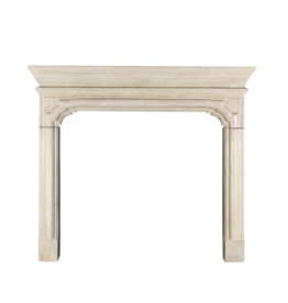 The Antique Fireplace Bank Timeless Louis XIV Style French Hard Limestone