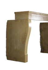 The Antique Fireplace Bank French Antique Cosy Fireplace Surround In Honey Color Stone