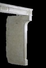 Marco De Chimenea De Piedra Caliza De Estilo Rústico Francés Antiguo