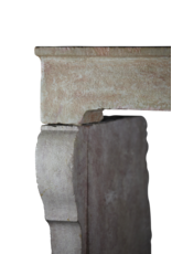 Vintage Kamin Maske In Hartem Stein