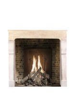 The Antique Fireplace Bank Vintage Fireplace Surround In Hard Stone