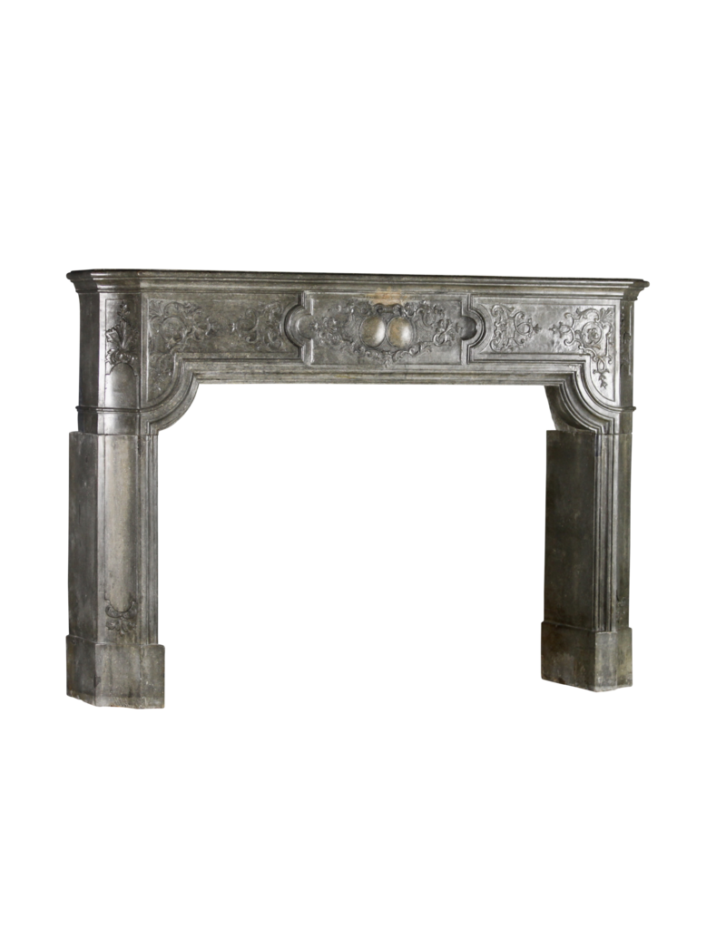 The Antique Fireplace Bank Gama Alta Chimenea De Piedra Bicolor Antigua