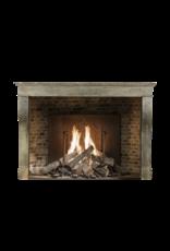 Maison Leon Van den Bogaert Antique Fireplaces & Vintage Architectural Elements Französische Zweifarbig Burgund Vintage Kamin Maske Des 19. Jahrhunderts