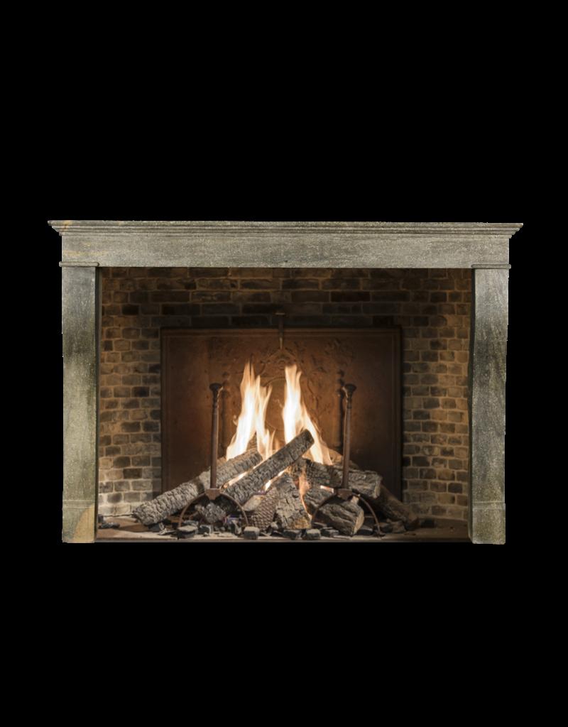 The Antique Fireplace Bank Französische Zweifarbig Burgund Vintage Kamin Maske Des 19. Jahrhunderts