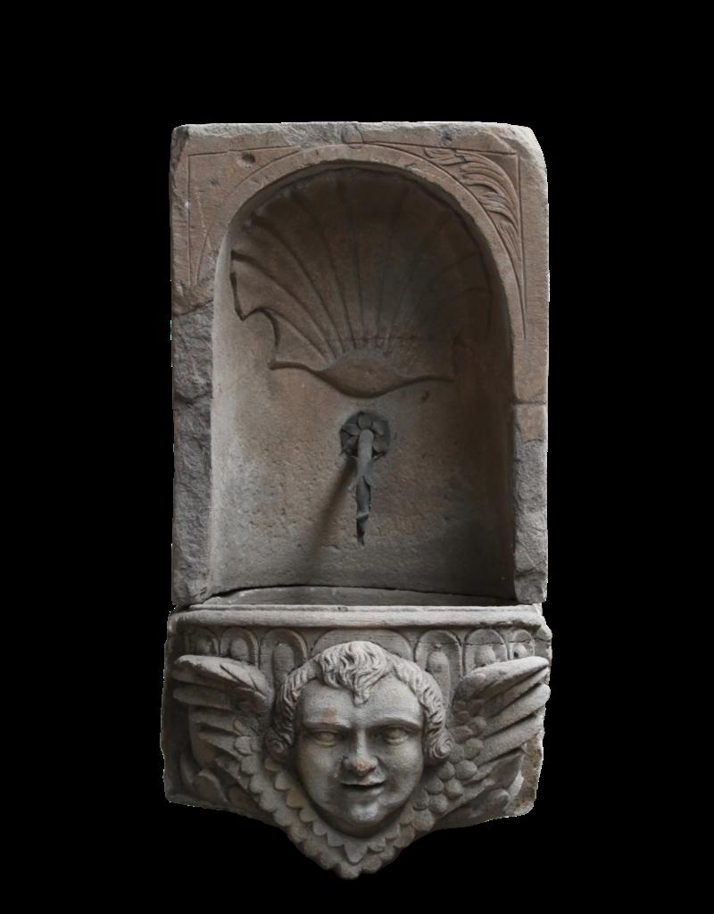 Wandbrunnen Mit Waschbecken