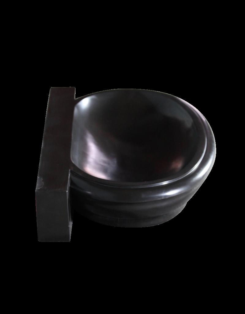 Black Belgian Marble Sink