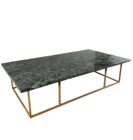 The Antique Fireplace Bank Table In Green Antique Marble