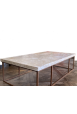 Antique Royal Brêche Marble  Coffee Table