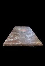 Original Tischplatte Aus Antikem Roche Fort Marmor
