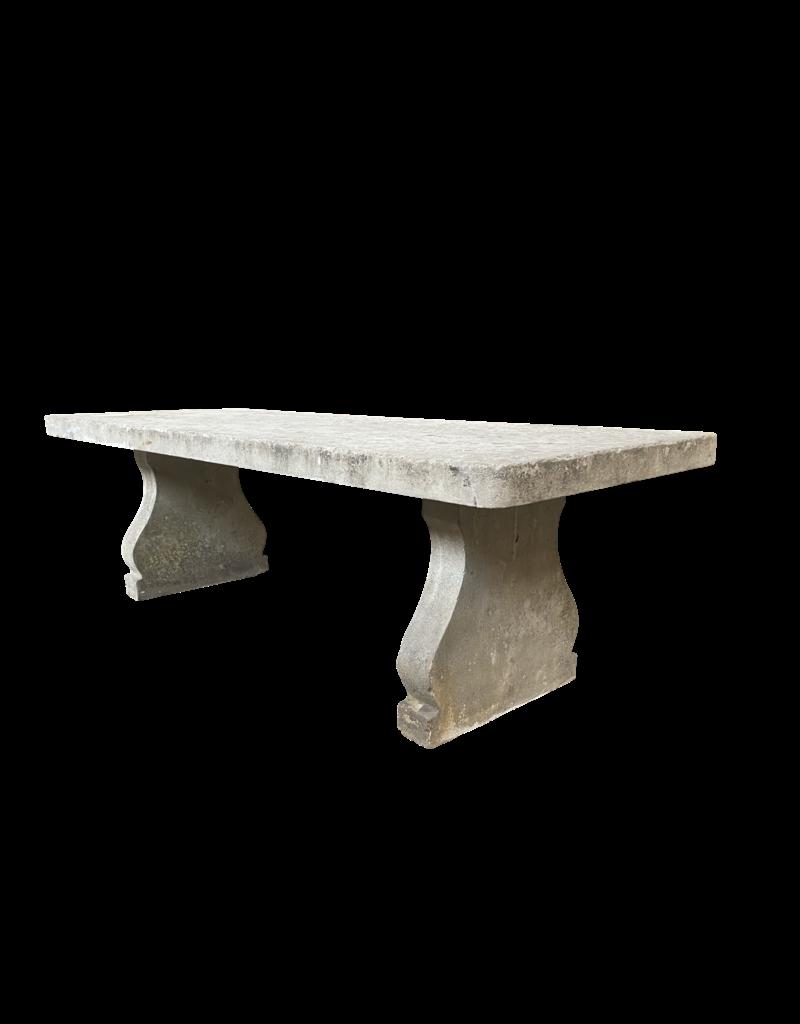 Großer Kalkstein Classy Country Style Tisch