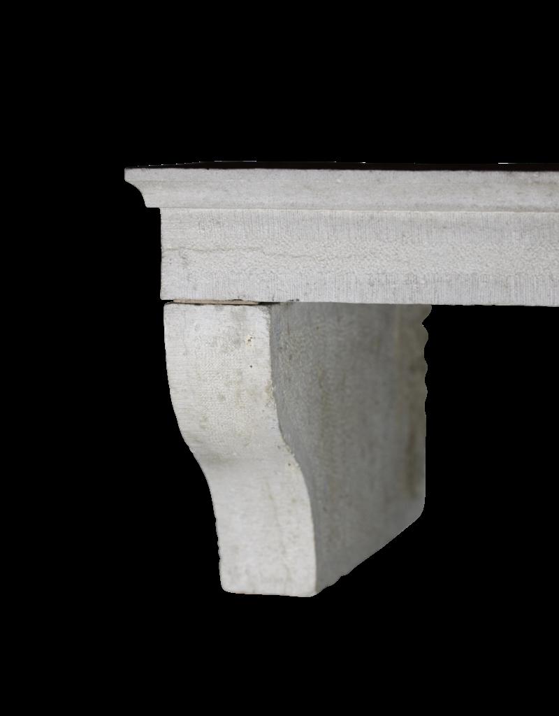 Encimera De Chimenea De Piedra Caliza Estilo Francés