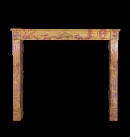 The Antique Fireplace Bank Elegante Chimenea Bicolor De Piedra Dura Francesa