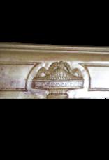 The Antique Fireplace Bank Französische Zweifarbige Hartstein-Kamin