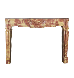 The Antique Fireplace Bank Strong French Bicolor Hard Stone Fireplace