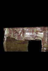 Chimenea Francés De Piedra Dura Bicolor