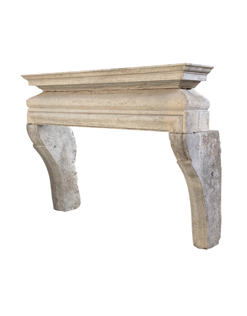 French Rustic Country Style Bicolor Hard Stone Fireplace Surround The Antique Fireplace Bank