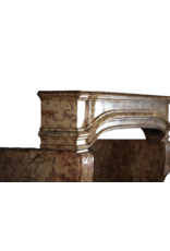 Französische Schlosskamin Aus Dem 18. Jahrhundert