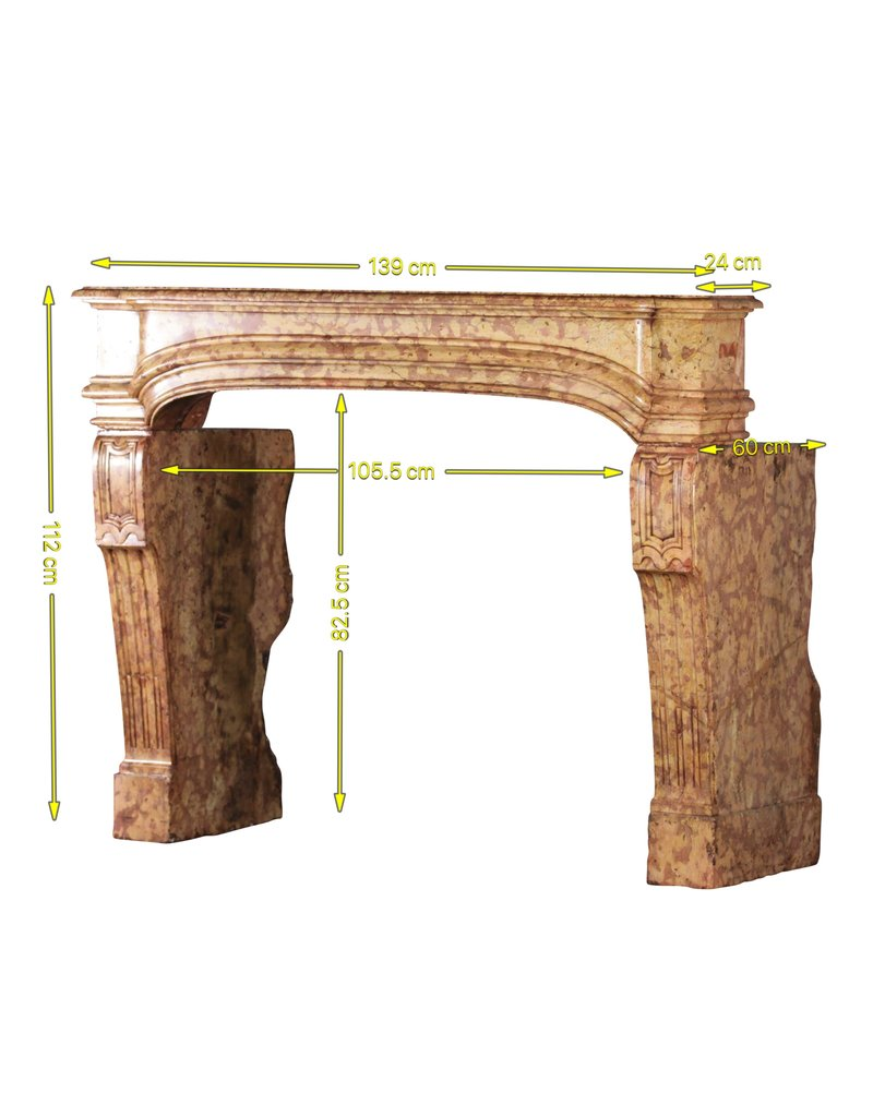 18Th Century French Castle Fireplace Surround