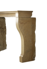 The Antique Fireplace Bank French Bicolor Stone Louis Philippe Period Fireplace Surround