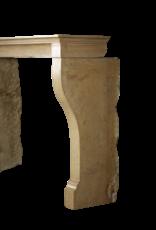The Antique Fireplace Bank Piedra Bicolor Francesa Louis Philippe Período Chimenea Surround