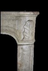 Regentschaftszeit Französisch Vintage Kalkstein Kaminmaske