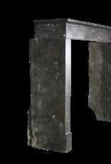 Siglo 17 Siglo Intemporal Chimenea De Piedra De Mármol Fósil Elegante Intemporal