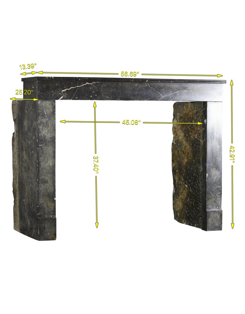 Budget Friendly Timeless Antique Fireplace Surround