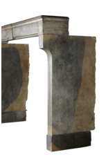 The Antique Fireplace Bank Bicolor Vintage Hard Stone French Fireplace Surround