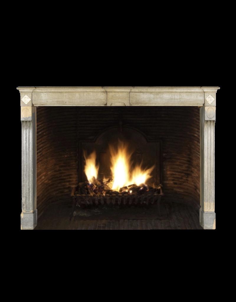 The Antique Fireplace Bank Zweifarbig Vintage Hartstein Französisch Kaminmaske