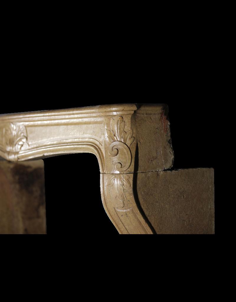 Ambiente Clásico De Chimenea Del Siglo XVIII
