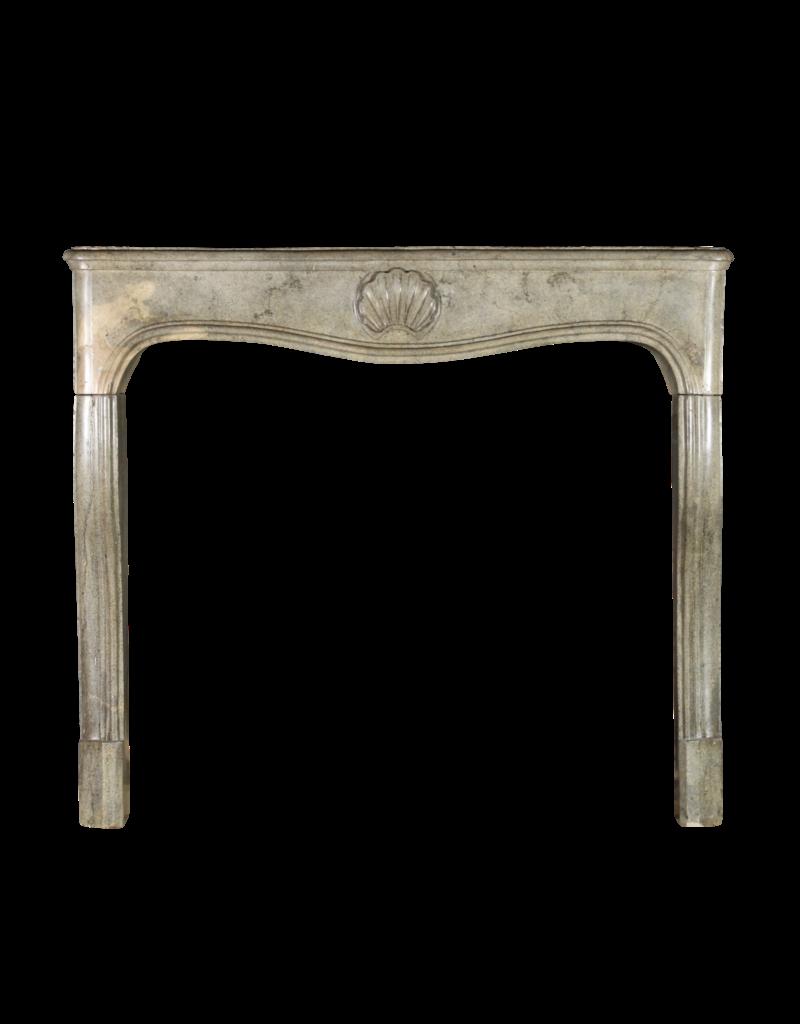 Kleine 18Th Jahrhundert Bicolor Hartstein Französisch Kaminmaske