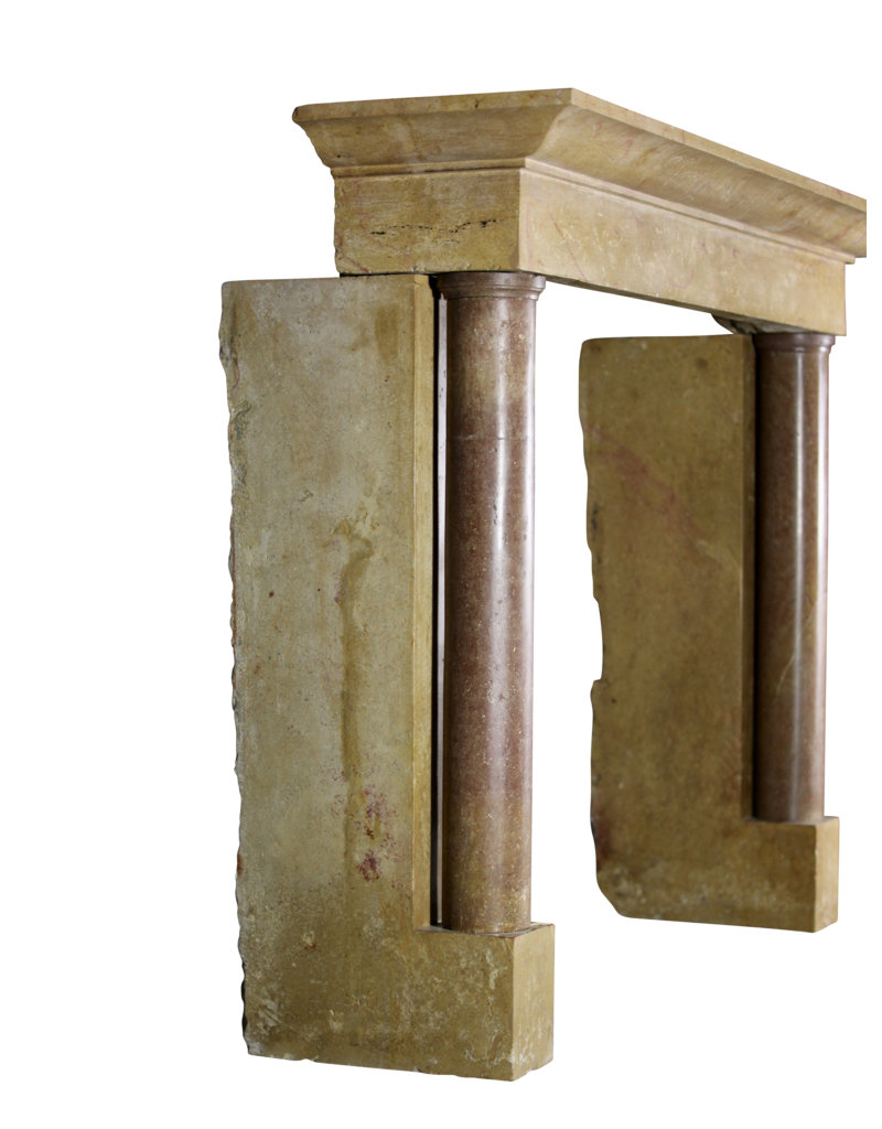 Exceptional World Vintage Fireplace Surround