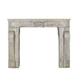 The Antique Fireplace Bank Mid War Travertine Marble Fireplace Surround