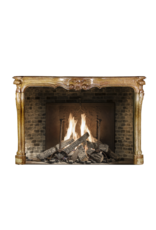 18Th Century French Stone Fireplace Surround