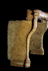 Chimenea De Piedra Francesa Del Siglo XVIII
