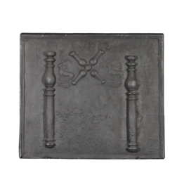 The Antique Fireplace Bank Fireback