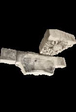 Fuente De Pared De Piedra Caliza Monumental