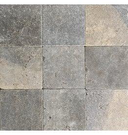French Bicolor Limestone Dalles