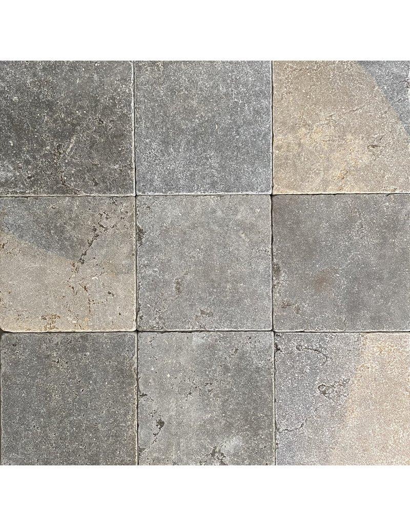 Piso De Piedra Caliza Bicolor Francés Original