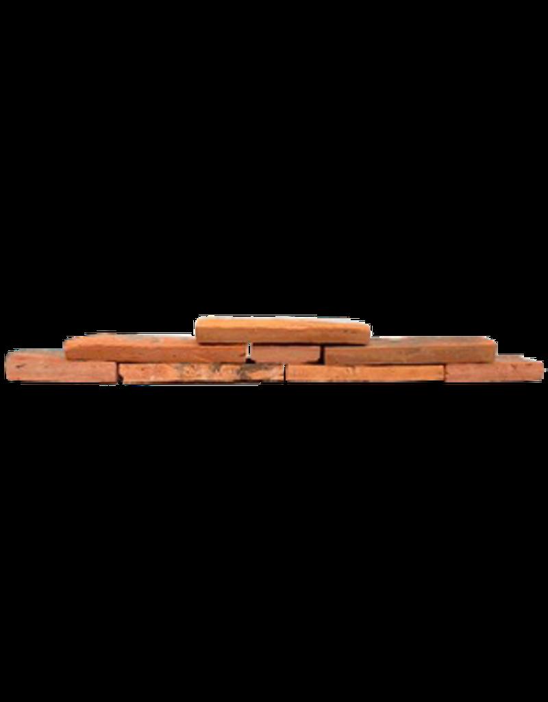 Belgischer Rot Terrakotta Kamin Verkleidung