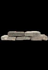 Antique Belgian Grey Terra Cotta Firebrick