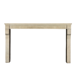 The Antique Fireplace Bank Wide French Limestone Fireplace Surround