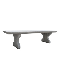 The Antique Fireplace Bank Grand Belgian Bleu Stone Outdoor Table