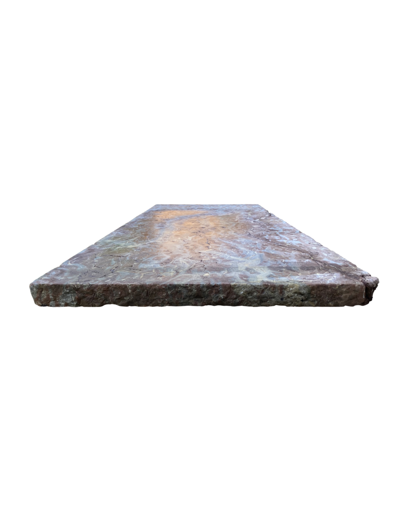 The Antique Fireplace Bank Antique Belgian Rochefort Marble Table Top