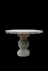 The Antique Fireplace Bank Octagonaler Französischer Antiker Rouge Languedoc Marmortisch