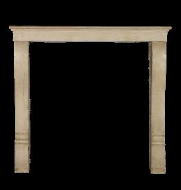 The Antique Fireplace Bank Pequeño Clásico De La Vendimia Francesa Duro De Piedra Caliza Chimenea Surround