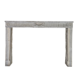 The Antique Fireplace Bank Grand French Bicolor Vintage Fireplace Surround