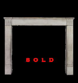 Timeless French Limestone Fireplace Surround