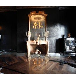 The Antique Fireplace Bank Belgian Red Terra Cotta Firebrick